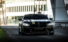 Picture road, black, street, tuning, coupe, BMW, Manhart, 2020, BMW M8, 4.4 L., two-door, V8 Biturbo, …