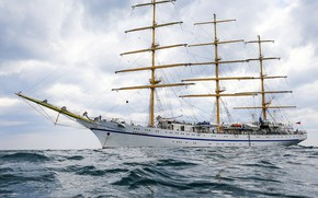 Picture ship, the black sea, sailing, training, Hersonissos