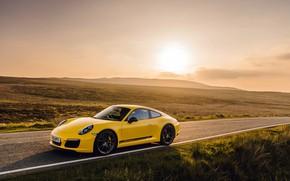 Picture 911, Porsche, Coupe, 2018, Carrera T