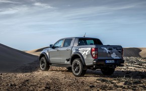 Picture the sky, grey, Ford, Raptor, Heath, pickup, Ranger, 2019