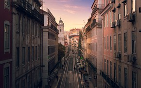 Picture Lisbon, Street, Home, The city, Road