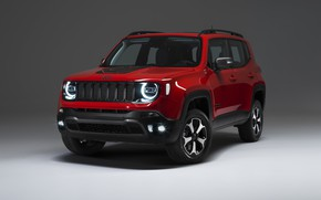 Picture Jeep, Plug-In Hybrid, Renegade, 2019