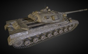 Picture Russia, The object 277, Experienced tank