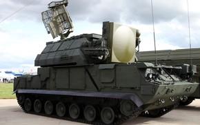 Picture radar, demonstration, Russian air defense, SAM 9К331 tor-M1
