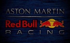Picture wallpaper, sport, logo, Formula 1, Aston Martin Red Bull Racing