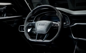 Picture Audi, the wheel, salon, ABBOT, universal, TFSI, RS 6, 2020, RS6-R, V8 Twin-Turbo, RS6 Avant, …