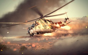 Picture helicopter, War Thunder, Attack Helicopter