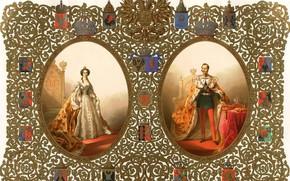 Picture 1856, Coronation, Michael Zichy