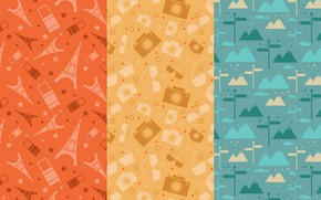Picture background, texture, vintage, style, patterns, travel
