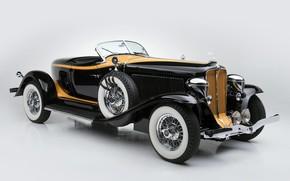 Picture machine, car, retro car, Auburn V12 160A Speedster 1932