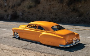 Picture Chevrolet, Retro, Custom, Low, 1951, Vehicle, Modified, Old car, RM Sotheby's