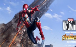 Picture marvel, Spider-Man, iron spider, avengers infinity war