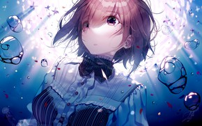 Picture water, girl, bubbles, Fate / Grand Order, The destiny of a great campaign
