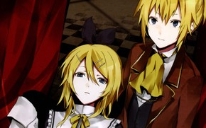 Picture two, Vocaloid, Rin, Len