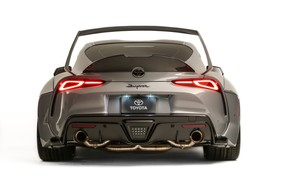 Picture Toyota, rear view, Supra, 2019, Rutledge Wood, GR Above, A90, SEMA 2019, HyperBoost