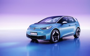 Picture concept, compact car, volkswagen id.3
