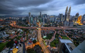 Picture the city, people, home, Malaysia, Kuala Lumpur