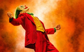 Picture figure, paint, Joker, costume, art, Joaquin Phoenix, Joaquin Phoenix, Joker 2019, Joker 2019