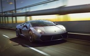 Picture Auto, Lamborghini, Machine, Gallardo, Car, Lamborghini Gallardo, Sports car, Sportcar, Transport & Vehicles, by Xianhua …