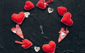 Picture love, heart, red, love, key, romantic, hearts, valentine's day, gift