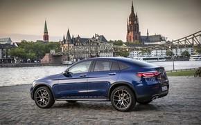 Picture Mercedes - Benz, crossover, SUV, 2019, Mercedes - Benz, Mercedes-Benz GLC 300 4MATIC Coupe, brilliant …