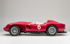 Picture Spokes, Ferrari, Classic, 1957, Scuderia Ferrari, 24 Hours of Le Mans, 24 hours of Le …