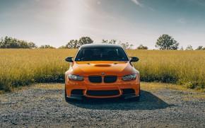 Picture nature, design, color, BMW, car, the front, E92 M3