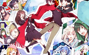 """Picture girls, collage, guys, characters, Kagerou Project, The project """"hot Fog"""""""