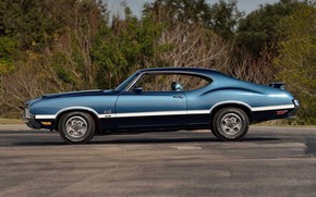 Picture Coupe, Muscle car, Vehicle, Oldsmobile 442, W30