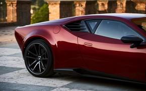 Picture coupe, side, body, V10, De Tomaso Pantera, Hurricane, Lamborghini Huracan, 2020, two-door, Project1, Panther ProgettoUno, …