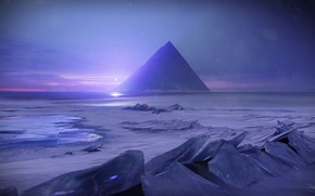Picture Winter, Pyramid, Ice