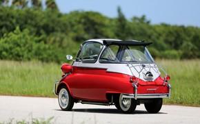 Picture BMW, Classic, 1957, Classic car, BMW Isetta 300 Bubble Window, Isetta