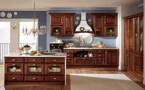 Picture design, room, interior, kitchen
