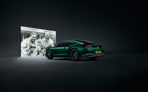 Picture machine, coupe, Bentley, lights, Continental GT, Number 9 Edition, Mulline