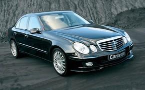 Picture Mercedes-Benz, sedan, E-Class, Carlsson, W211, the third generation car E-class