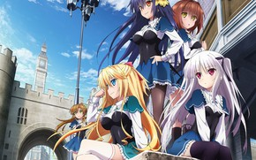 Picture the city, girls, lantern, absolute duo, The perfect couple