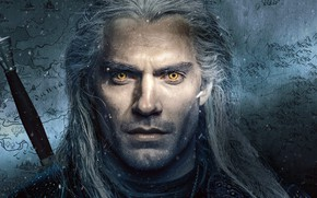 Picture eyes, the series, The Witcher, The Witcher, Henry Cavill, Henry Cavill