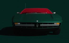 Picture Auto, Machine, Render, Rendering, Supercar, Transport & Vehicles, Lasse Bauer, by Lasse Bauer, Wonder Maserati, …
