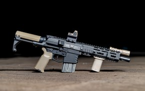 Picture weapons, rifle, weapon, custom, M16, ar-15, assault rifle, m16, assault Rifle, ar-15, ar 15, ar …