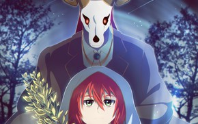 Picture night, Mahou Tsukai no Yome, Bride of the sorcerer, Chise, Elias