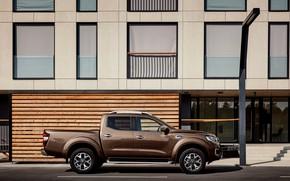Picture Renault, profile, brown, pickup, 4x4, 2017, Alaskan