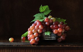 Picture background, grapes, bunches