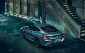 Picture machine, coupe, BMW, lights, coupe, xDrive, 8-Series, G15, M850i, First edition