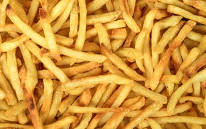 Picture yellow, fried, potatoes, french fries