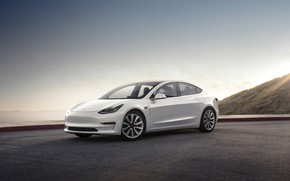 Picture Tesla, Model 3, 2017