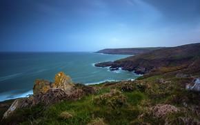 Picture sea, coast, Ireland