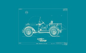 Picture land rover, suv, 1945