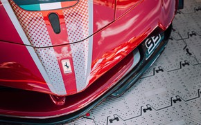 Picture Red, Super Car, Ferrari FXXK Evo
