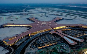 Picture Airport, WFP, Terminal, Daxing, International airport Beijing Daxing, Beijing Daxing International Airport