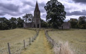 Picture church, Priory, Restenneth, Forfar